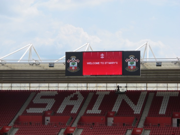 A Place to Avoid the Crowd: St Mary's Stadium, Southampton, UK (Photo: Stadiafile)