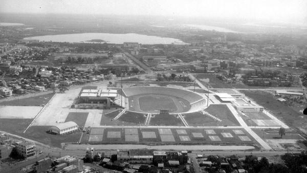 [Image: Olympic Stadium Complex, Phnom Penh, Cambodia from LA Times]