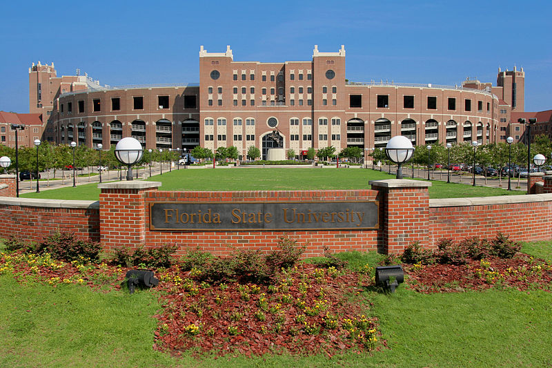 North end exterior Memorial Stadium at Owen Field, via ArmchairGM
