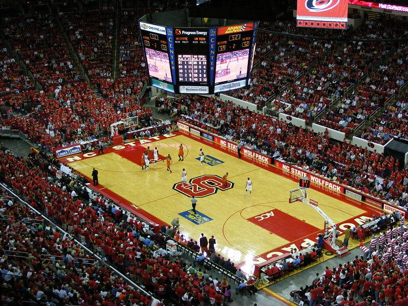 PNC Arena via Wikipedia