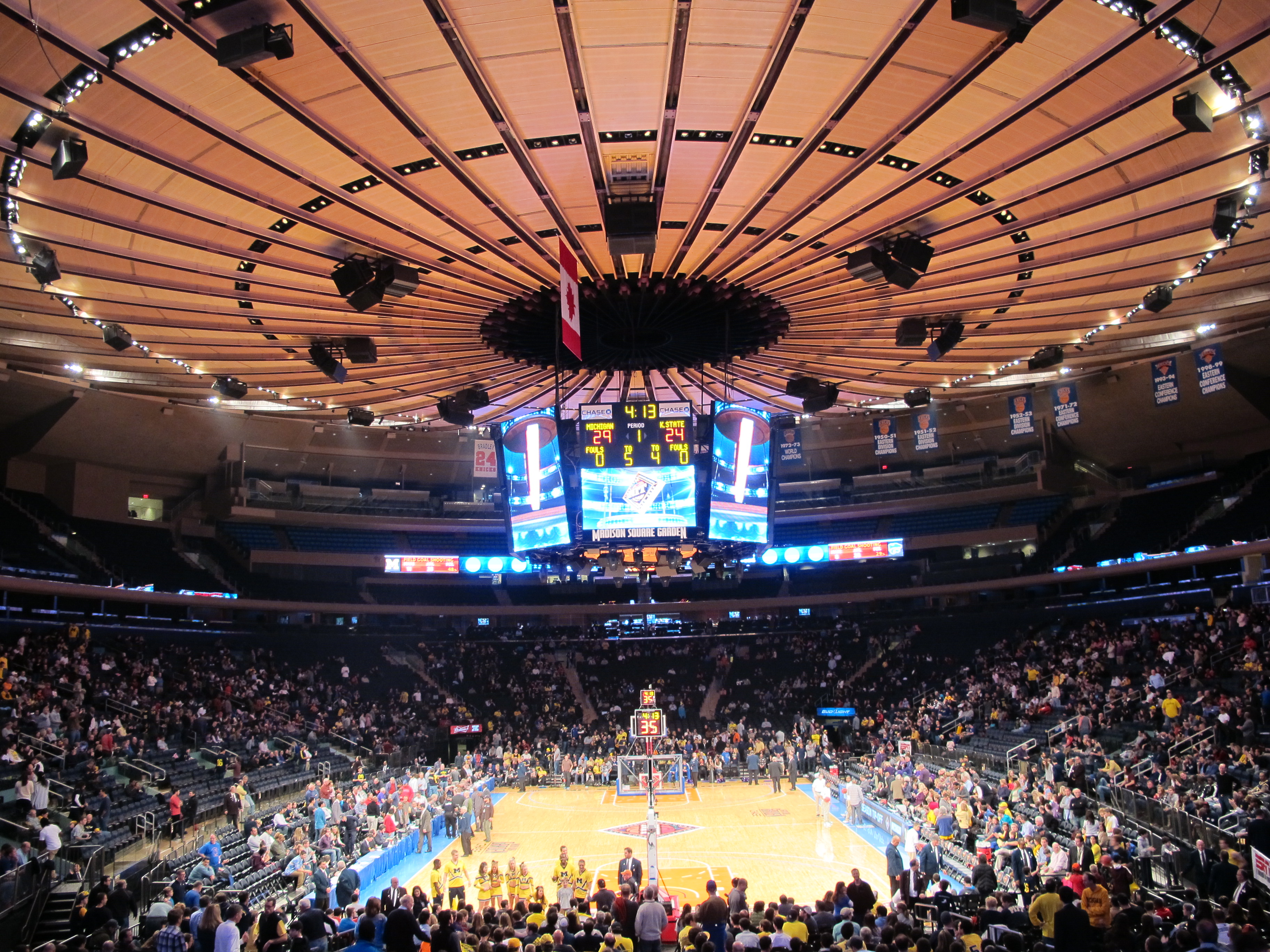 The Great Arena Roof Part I Madison Square Garden