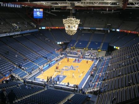 Rupp Arena pregame via kwatson0013 Flickr