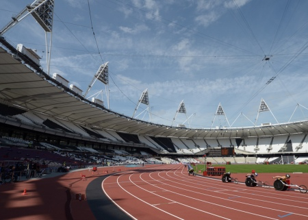London 2012 Olympic Stadium via Dezeen