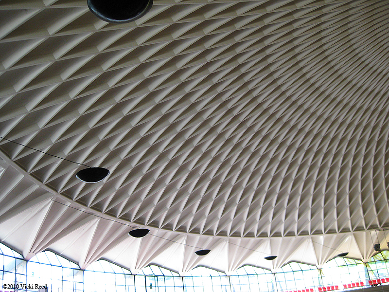 Palazzetto dello Sport, via University of Washington Library ©2010 Vicki Reed