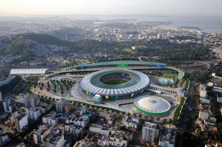 A newly remodeled Maracanã Stadium will be next decade's hub of sport via Building.co.uk
