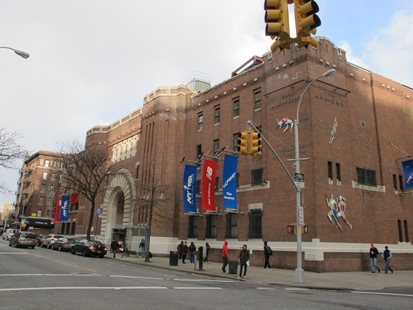 The Armory on Fort Washington Avenue (Photo: Stadiafile)