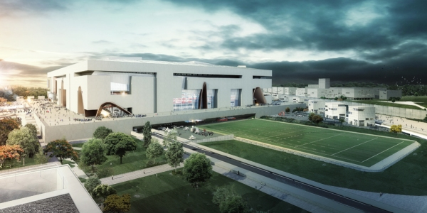 GRAND STADE FFR_PELOUSE_POPULOUS and Ateliers 2 3 4 low res