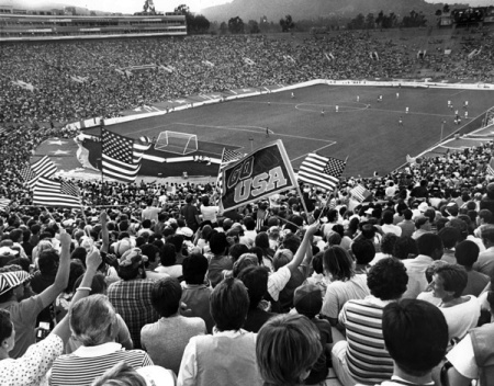 The Rose Bowl hosted 1984 Summer Olympic soccer matches via KCET