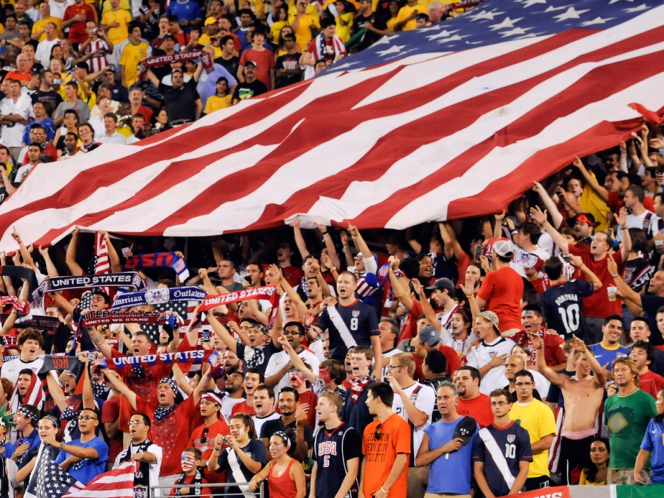 American Soccer fans are as passionate as the best of them, via US Soccer
