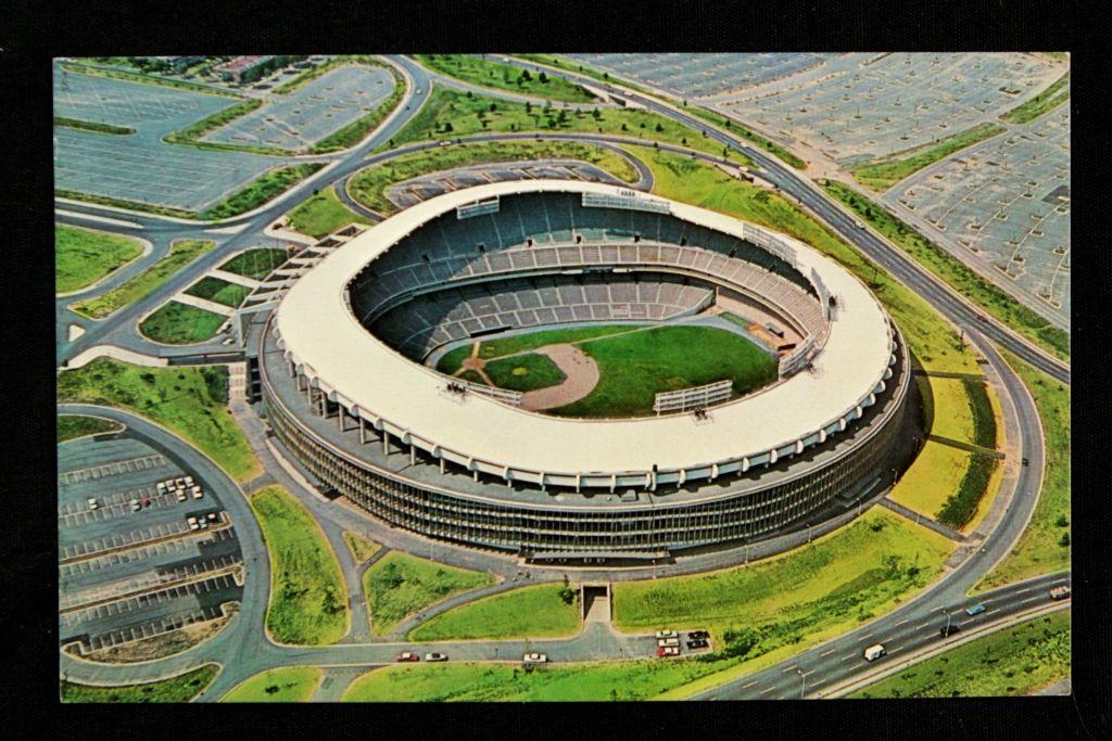 Postcard of RFK Stadium via Mears Online Auction