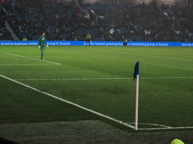 Peter Brezovan, the lonely goalie. (Photo: Stadiafile)