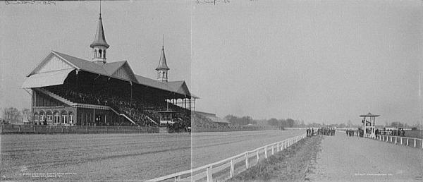 Churchill downs c. 1901 via Wikipedia
