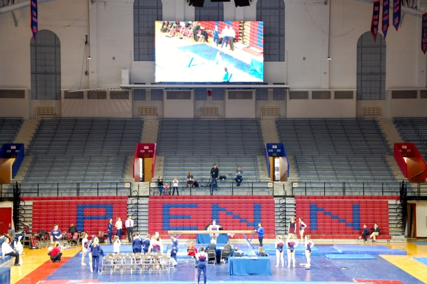 Even a near empty Palestra is a wonderful place to be.