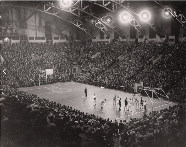 The early days at the Palestra (Photo: Pixgood)
