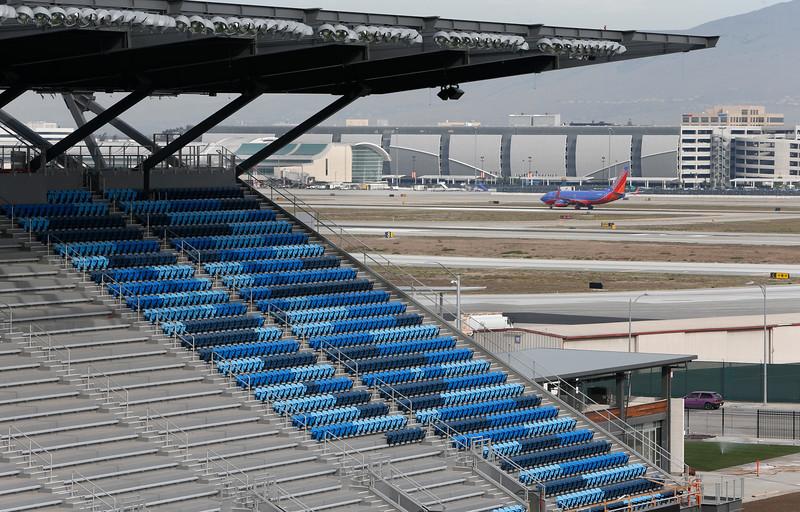 Avaya and its neighbor San Jose Int'l Airport (Photo: San Jose Mercury News)