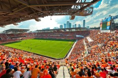 BBVA Compass Stadium. Houston, TX. Home to the Houston Dynamos (Photo: Populous)