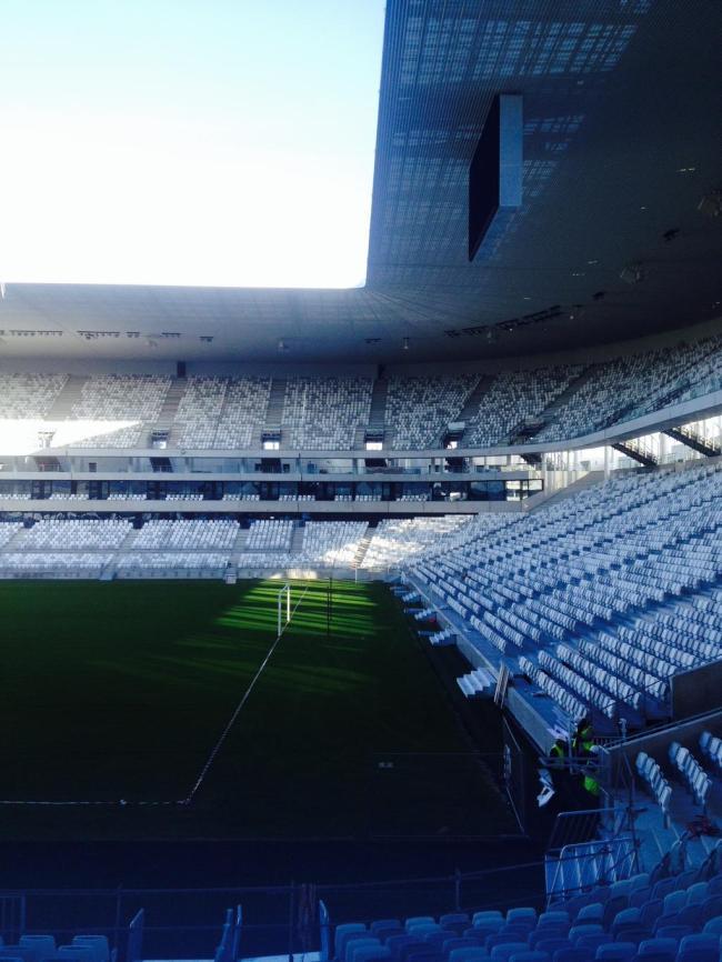 Grande Stade Bordeaux' ethereal interior (Photo: Skyscraper City