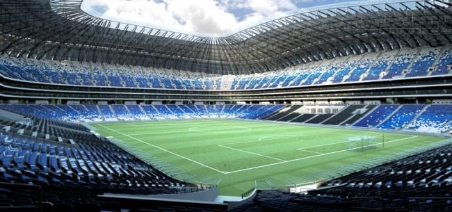Estadio de Monterrey's features two levels of VIP suites (Photo: Populous)