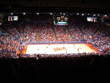 A packed UD Arena (Photo: Adam Sonnett)