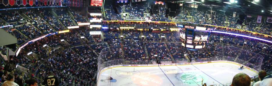 Nationwide Arena is a hockey-first venue (Photo: jagoff Photobucket)