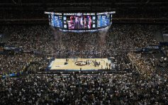 NRG Stadium, then Reliant Stadium, at the 2011 Final Four (Photo: Media.Cleveland)